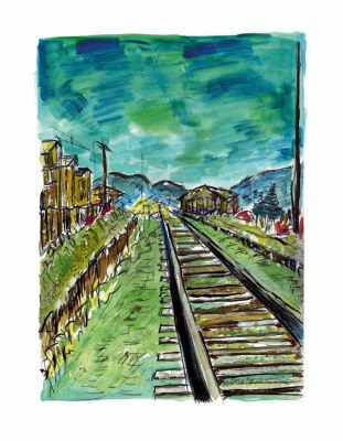 Train Tracks (2008) Green - Bob Dylan