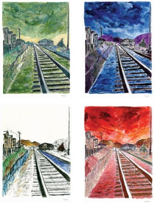 BobDylan-TrainTracks2012